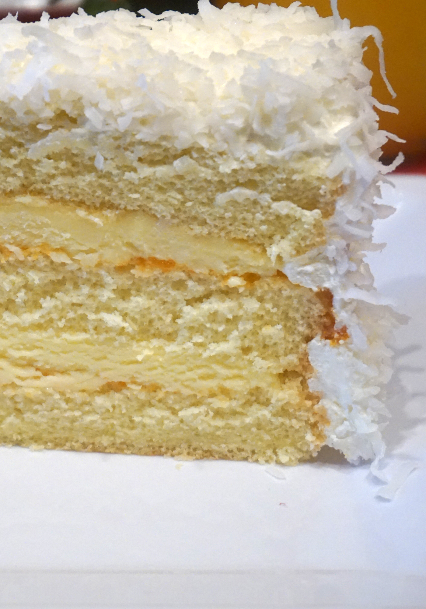 Coconut White Cake