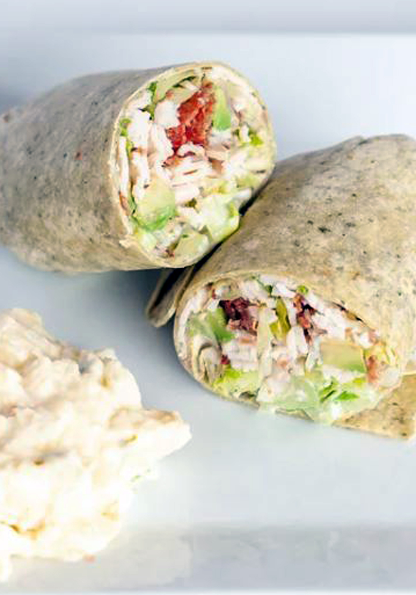 Ranch Turkey Club Wrap